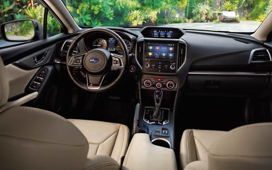 2021 Subaru Impreza Interior WIth EyeSight