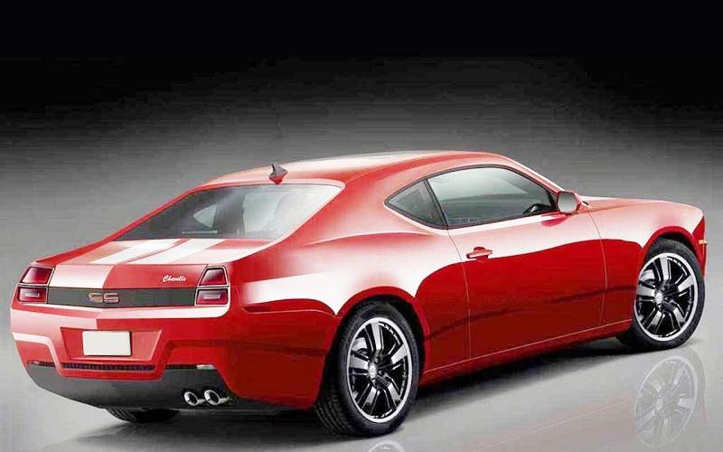 2022 Chevy Chevelle SS New Pictures Exterior With Red Color