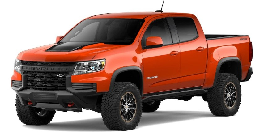 2022 Chevy Colorado Concept