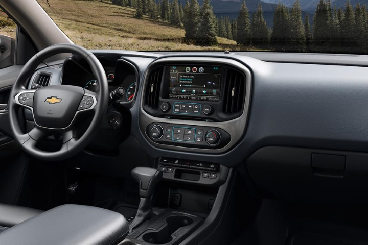 2022 Chevy Colorado Interior Dashboard