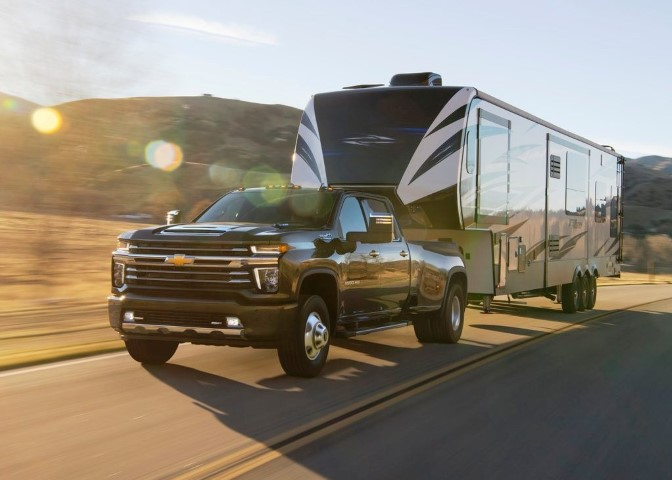 2022 Chevy Silverado 2500HD Towing Capacity