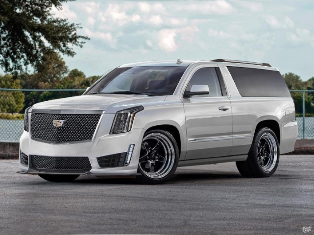 2022 Chevy Tahoe SS Concept Pictures