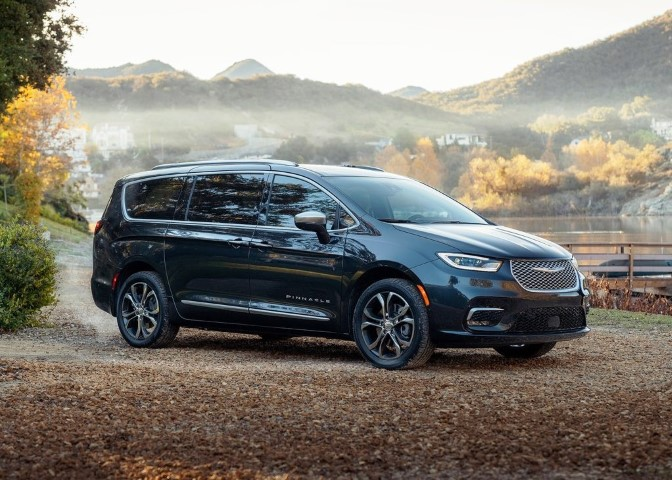 2022 Chrysler Pacifica Dimensions