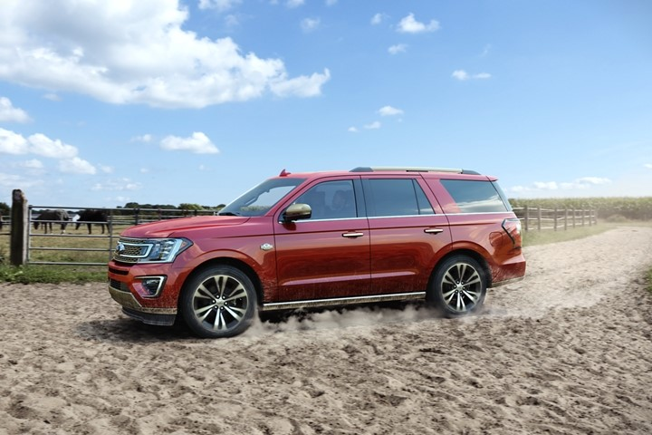 2022 Ford Expedition Desert Test