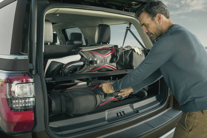 2022 Ford Expedition Trunk Capacity