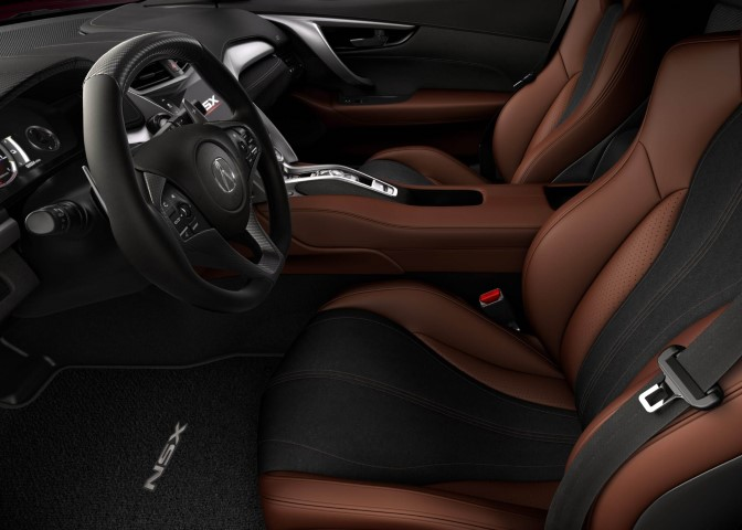 2022 Acura NSX Hybrid Interior Leather