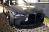2022 BMW M4 Pictures Shows Huge Grille