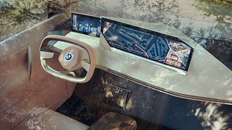 2022 BMW iNext Interior WIth Autonomous