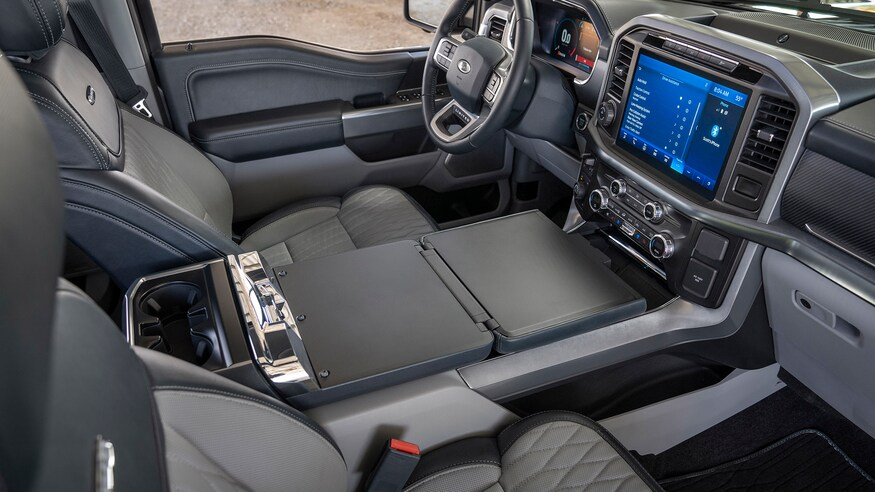 2022 Ford F-150 Electric Center Console