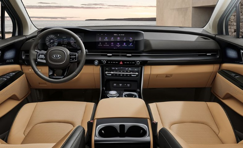 2022 Kia Sedona Interior Features Dashboard