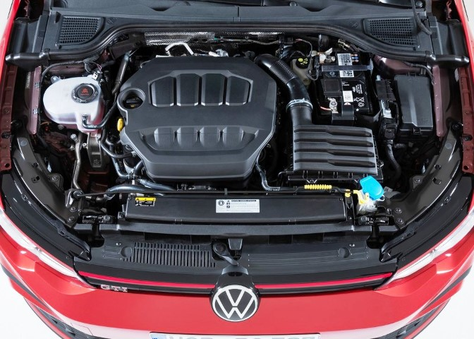 2022 VW Golf GTI Turbo Engine