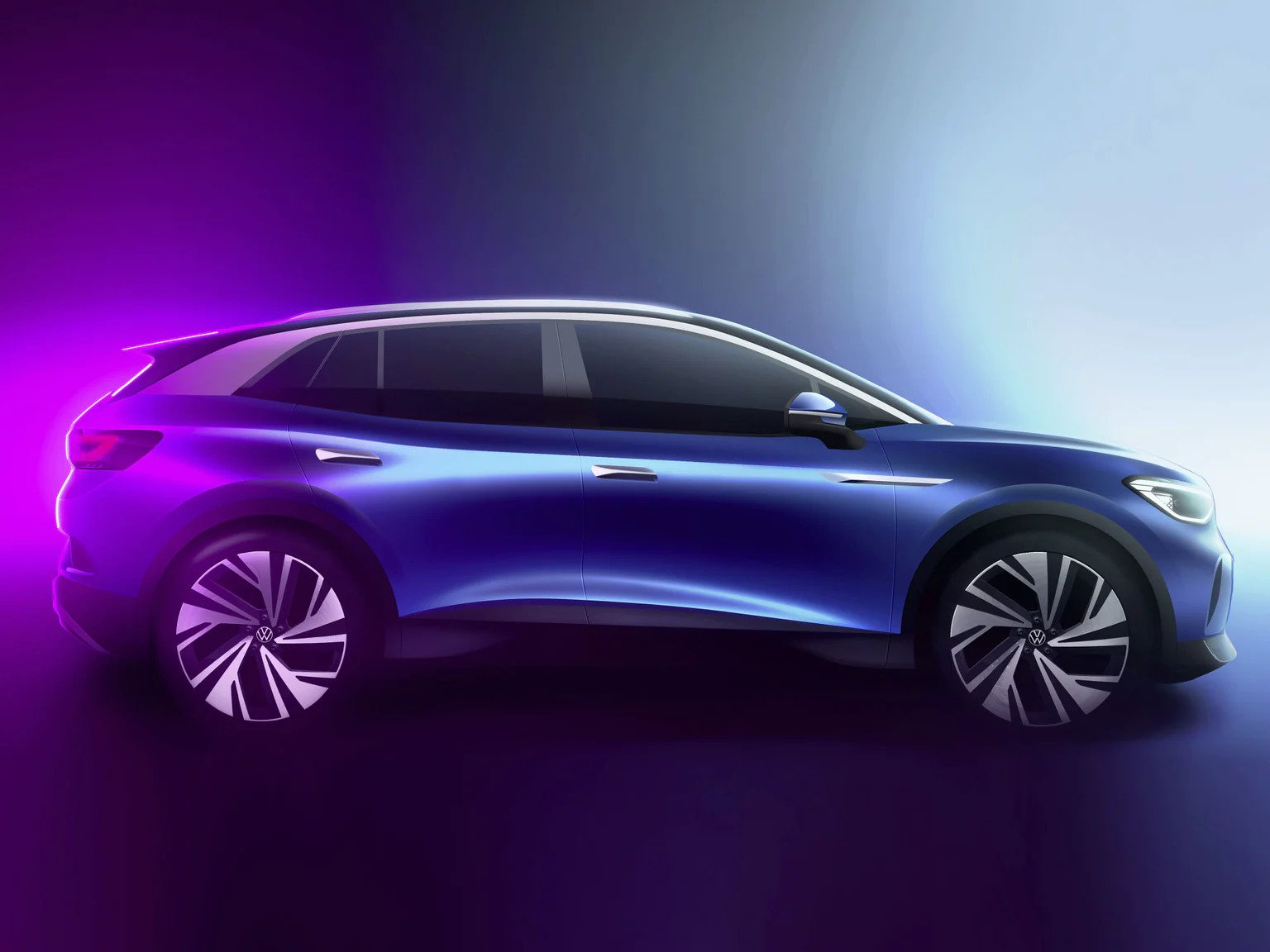 2022 VW ID.4 Exterior Look