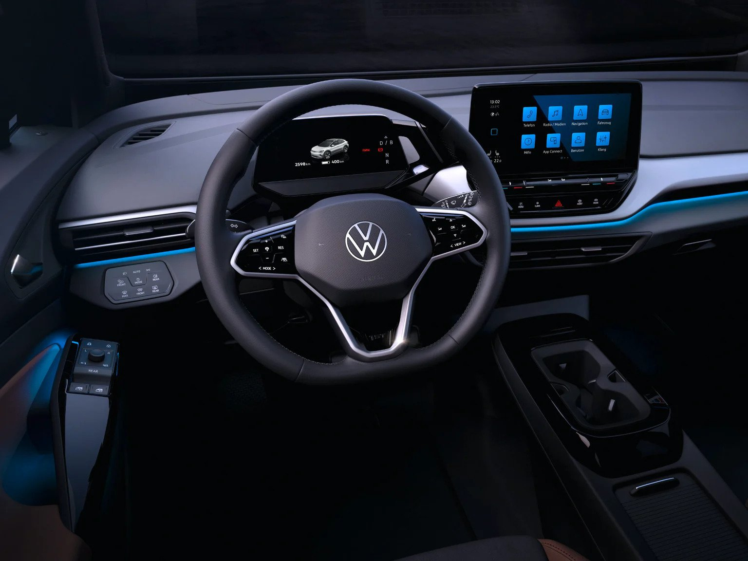 2022 VW ID.4 Interior Pictures