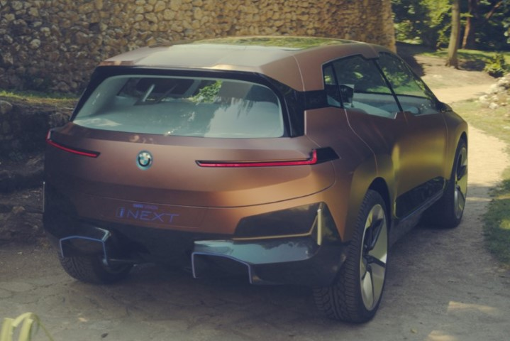BMW Vision iNext Concept Availabgility